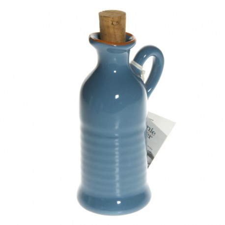 Jamie Oliver - Oil bottle - Steal blue